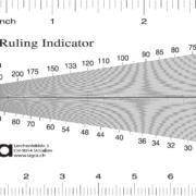 Ugra Screen Ruling Indicator